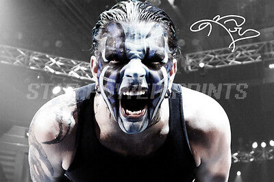 Jeff Hardy Pre-Signed Photo Print Poster - 12 X 8 Inch  A+ Quality