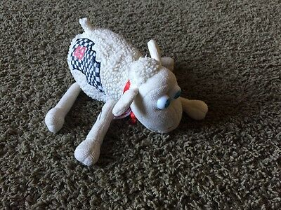 Serta Sheep #49 Race Flag Plush Stuffed Toy