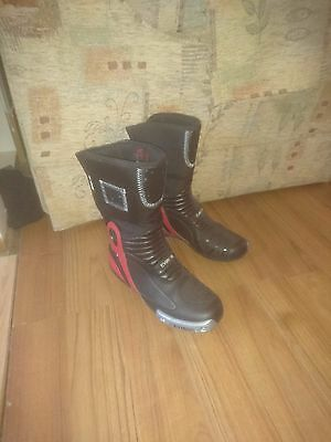 New Motorcycle Motorbike Leather Boots - All Colours
