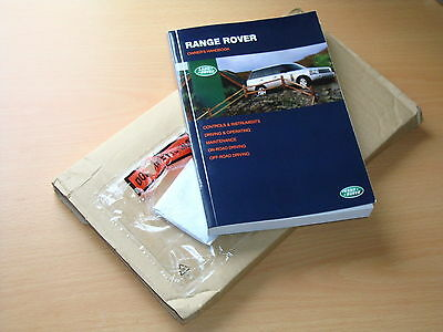 Range Rover Owners Manual Handbook 2002 - 2006, Immaculate Condition
