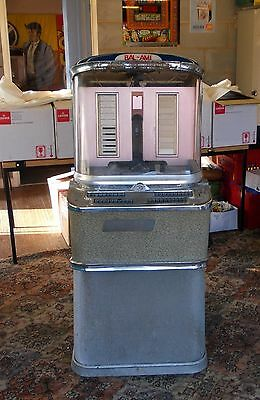 BAL-AMI Super Forty Jukebox for Restoration~Small 1950s Coffee Bar~Vintage Retro