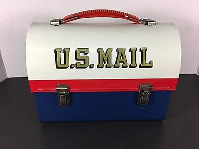 Vintage U.S. Mail Dome Metal Lunch Box