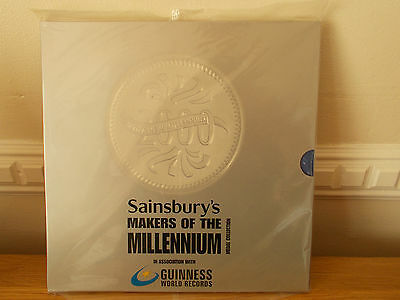 Sainsburys Makers Of The Millennium Medal Collection New & Sealed