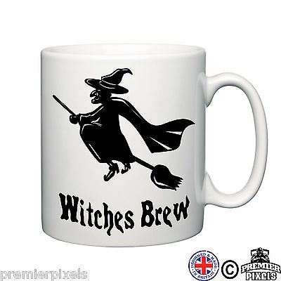 witches brew funny novelty Gift Tea Coffee home Office Ceramic cup Mug
