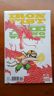 Iron Fist: The Living Weapon #1 - Skottie Young Variant - Marvel Comics