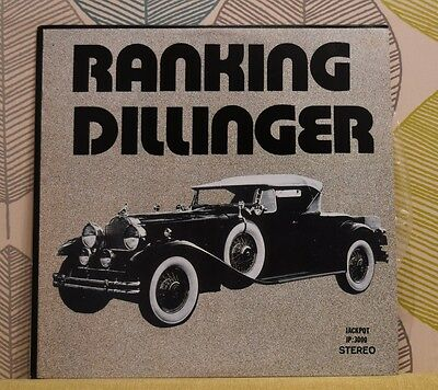 RANKING DILLINGER - None Stop Disco Style [Vinyl LP] Canada Import JP:3000 *EXC