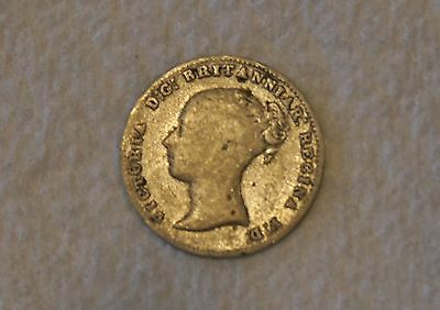 Queen Victoria 3 three pence 1861 Great Britain UK England