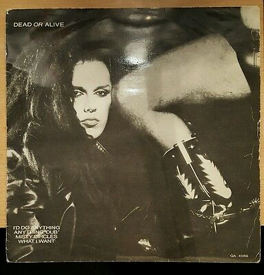 """Dead Or Alive - I'd Do Anything [10"""" Single]"""