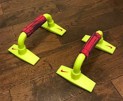 Nike Push Up Grips  Bars Stand Pull Press Bar Soft Grips Foam Handles Home