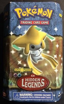 2004 Pokemon EX Hidden Legends Wish Maker Theme Deck SEALED