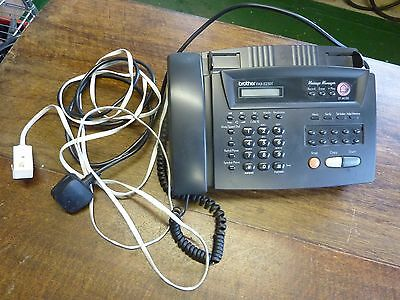 Brother Fax Machine Answer Phone Brother FAX-525DT Working Stage Prop Display