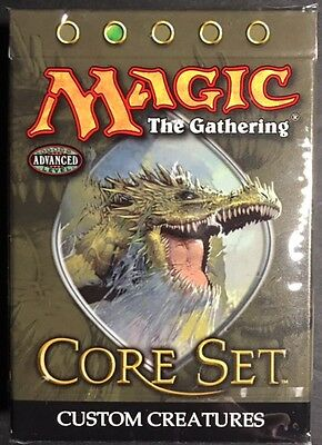 2005 Magic the Gathering 9th Edition Core Set Custom Creatures Theme Deck SEALED