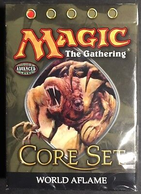 2005 Magic the Gathering 9th Edition Core Set World Aflame Theme Deck SEALED