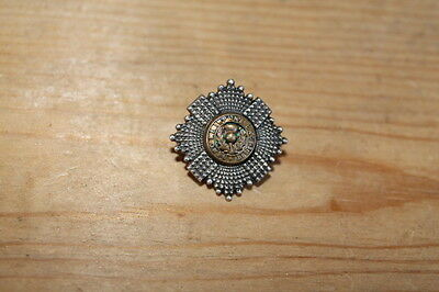 WW1 Scots Guards Officer silver collar dog/cuff badge
