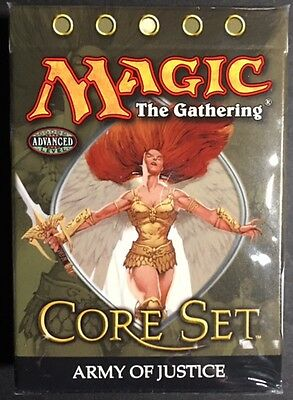 2005 Magic the Gathering 9th Edition Core Set Army of Justice Theme Deck SEALED