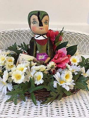 Joe Spencer Gathered Traditions Hailey Hummingbird w/ Hand Painted Face:FGS1530