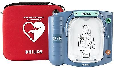 AED Philips HeartStart Onsite Defibrillator + New Battery + New Pads M5066A
