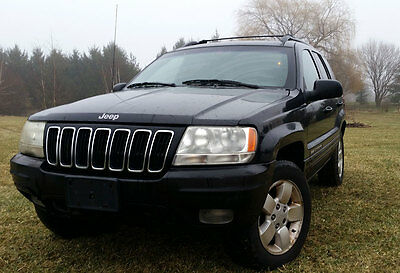 2001 Jeep Grand Cherokee Limited 2001 Jeep Grand Cherokee Limited 4WD V-8  **Mechanics Special**  Police Seizure