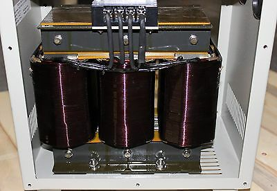 2 KVA Step Up, Three phase isolation power transformer, 240V in / 415V out
