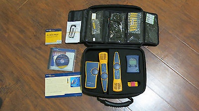 Fluke Networks Network Cable Tester Kit with Probe