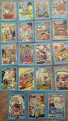 Space Oddbodz Vintage Collector Trading Cards 90's