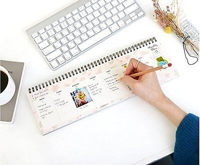Iconic Weekly, Monthly Desk Pad Ver.2 / Pattern Scheduler (Weekly)