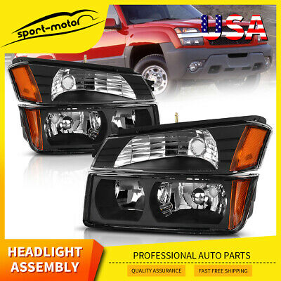 Front Driving Headlights Headlamps Factory Style for 1998-2002 Chevy Camaro Z28