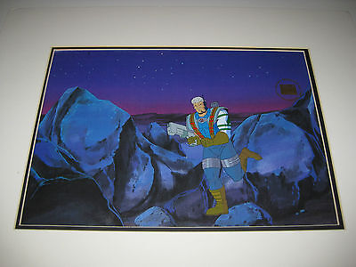 "X-Men-1990's Marvel Animation- Original Production Cel-""cable""-With Seal-Xlnt!"