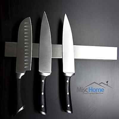 +Hot+ 16 Inch Stainless Steel Magnetic Knife Holder High Quality Magnetic Knife