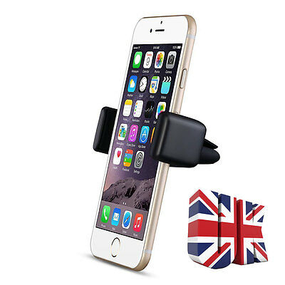 1x Universal Mobile Phone in Car Air Vent Mount Cradle Stand Holder For iPhone 6
