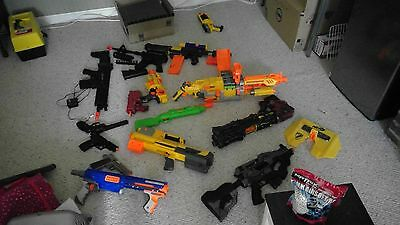 Large BB Gun and NERF Gun bundle (Read description for details)
