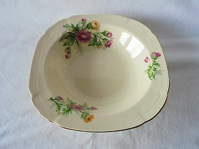 Collectable Vintage Alfred Meakin Desert Bowl with Gold Trim  Made In England