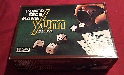 Yum Deluxe Poker Dice Game - 100% complete