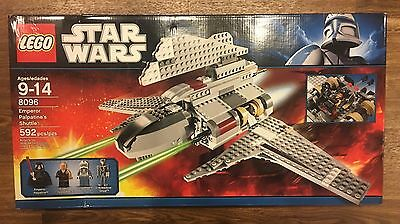 LEGO Star Wars Emperor Palpatine's Shuttle (8096) - Brand New & Sealed