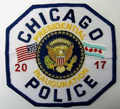 "Chicago  Police "" 2017 Presidential Inauguration Patch"