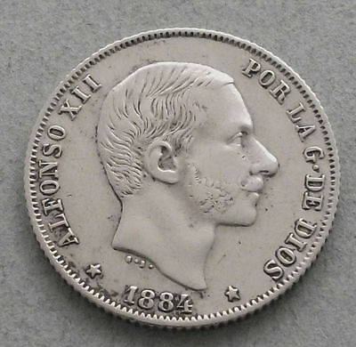Phillipines 20 centimes  1884 Very rare   ch109