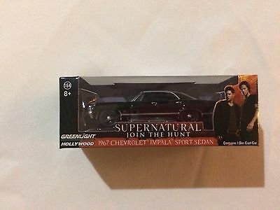 supernatural 1967 chevy impala Loot Crate Exclusive