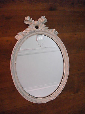"Antique / vintage mirror - Beautiful French Provincial ""shabby chic' style"