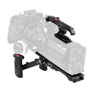 JTZ DP30 Camera Cage Baseplate Shoulder Rig KIT For Blackmagic URSA MINI 4K 4.6K