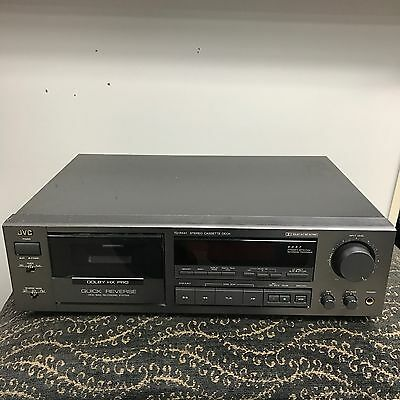 JVC TD-R441 Stereo Cassette Deck Great Condition Vintage