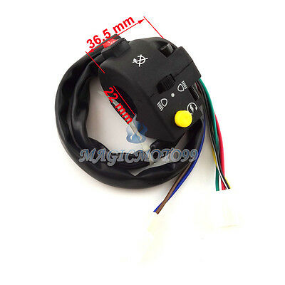 Left ATV Control Switch Assy For 50cc 70cc 90cc 110cc 125cc Kazuma Taotao Sunl
