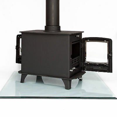 8KW Double Sided, Two sided Multi-fuel, Woodburning, Stove, Stove Dual Fronted