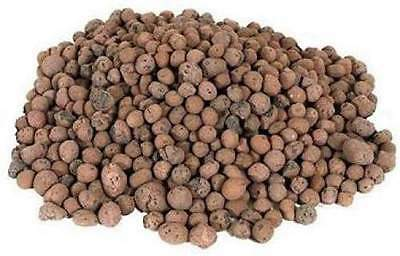 Clay Pebbles 50litre Bag Hydroponic Growing Media Soil Aeration Drainage £16.50