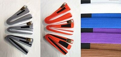 BJJ Belt - All Colours/Sizes - Low Prices