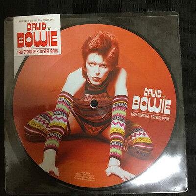 """David Bowie   - Lady Stardust / Crystal Japan 7"""" Picture Disc"""