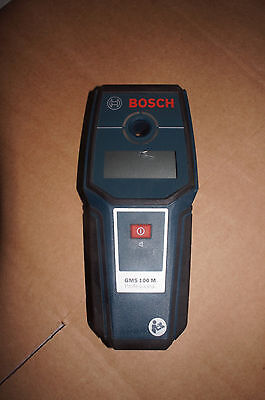 Bosch Detector GMS100M Professional Please Read.
