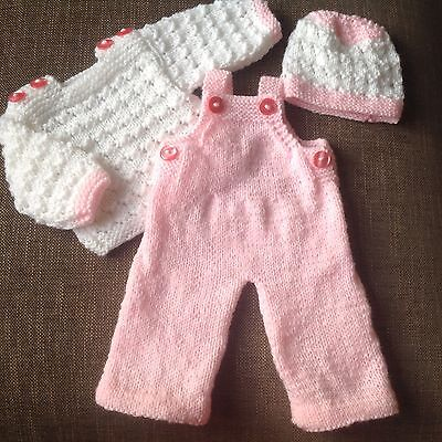 Hand Knitted Doll / Reborn Outfit