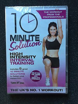 Workout Video HIIT 10 Minute Solution