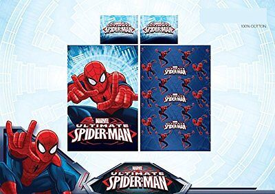 Lenzuola letto singolo con federa marvel spiderman puro - Letto di spiderman ...