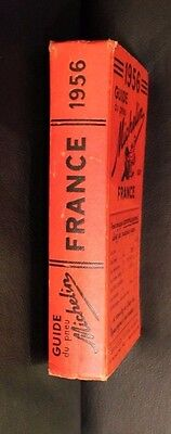 Guide Michelin  Rouge. France. 1956